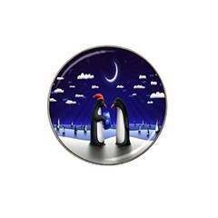 Small Gift For Xmas Christmas Hat Clip Ball Marker