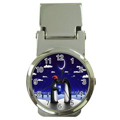 Small Gift For Xmas Christmas Money Clip Watches
