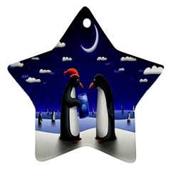 Small Gift For Xmas Christmas Star Ornament (Two Sides)