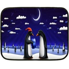 Small Gift For Xmas Christmas Fleece Blanket (Mini)