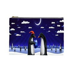 Small Gift For Xmas Christmas Cosmetic Bag (Large)