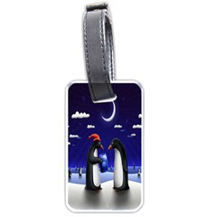 Small Gift For Xmas Christmas Luggage Tags (One Side)