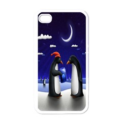 Small Gift For Xmas Christmas Apple iPhone 4 Case (White)