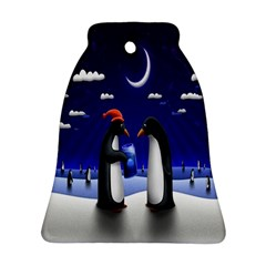 Small Gift For Xmas Christmas Ornament (Bell)