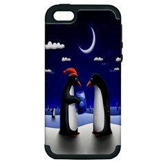 Small Gift For Xmas Christmas Apple Iphone 5 Hardshell Case (pc+silicone)