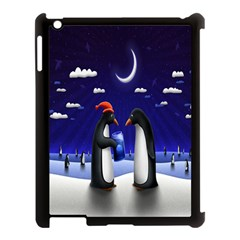 Small Gift For Xmas Christmas Apple Ipad 3/4 Case (black)