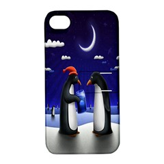 Small Gift For Xmas Christmas Apple Iphone 4/4s Hardshell Case With Stand