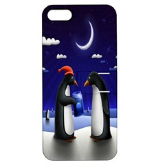 Small Gift For Xmas Christmas Apple iPhone 5 Hardshell Case with Stand