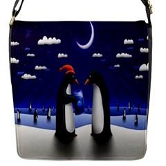 Small Gift For Xmas Christmas Flap Messenger Bag (s)