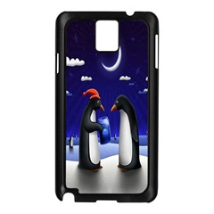 Small Gift For Xmas Christmas Samsung Galaxy Note 3 N9005 Case (black)