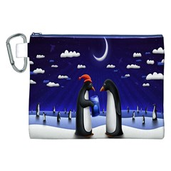 Small Gift For Xmas Christmas Canvas Cosmetic Bag (xxl)