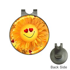 Smiley Joy Heart Love Smile Hat Clips With Golf Markers