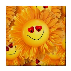 Smiley Joy Heart Love Smile Face Towel