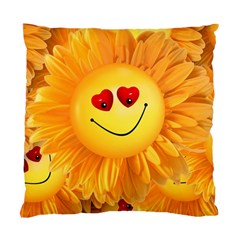 Smiley Joy Heart Love Smile Standard Cushion Case (Two Sides)