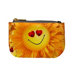 Smiley Joy Heart Love Smile Mini Coin Purses