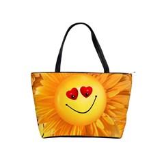 Smiley Joy Heart Love Smile Shoulder Handbags