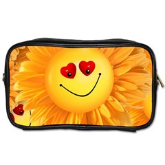 Smiley Joy Heart Love Smile Toiletries Bags