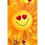 Smiley Joy Heart Love Smile 5.5  x 8.5  Notebooks Back Cover Inside