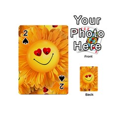 Smiley Joy Heart Love Smile Playing Cards 54 (mini)