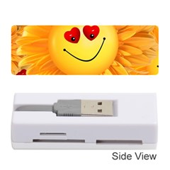 Smiley Joy Heart Love Smile Memory Card Reader (Stick)