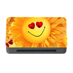 Smiley Joy Heart Love Smile Memory Card Reader with CF