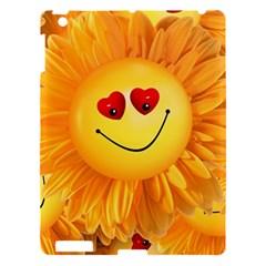 Smiley Joy Heart Love Smile Apple iPad 3/4 Hardshell Case