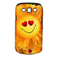 Smiley Joy Heart Love Smile Samsung Galaxy S Iii Classic Hardshell Case (pc+silicone)
