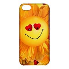 Smiley Joy Heart Love Smile Apple Iphone 5c Hardshell Case