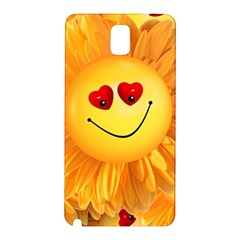 Smiley Joy Heart Love Smile Samsung Galaxy Note 3 N9005 Hardshell Back Case