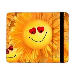 Smiley Joy Heart Love Smile Samsung Galaxy Tab Pro 8 4  Flip Case