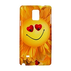Smiley Joy Heart Love Smile Samsung Galaxy Note 4 Hardshell Case