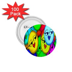 Smiley Girl Lesbian Community 1.75  Buttons (100 pack)