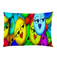 Smiley Girl Lesbian Community Pillow Case (two Sides)