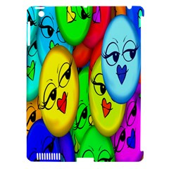 Smiley Girl Lesbian Community Apple Ipad 3/4 Hardshell Case (compatible With Smart Cover)