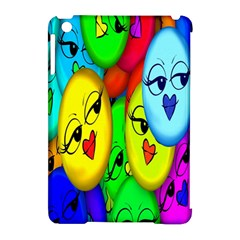 Smiley Girl Lesbian Community Apple iPad Mini Hardshell Case (Compatible with Smart Cover)