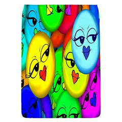 Smiley Girl Lesbian Community Flap Covers (s)