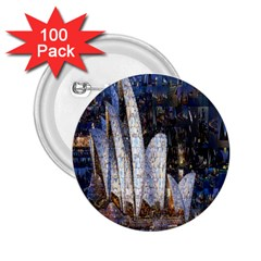Sidney Travel Wallpaper 2.25  Buttons (100 pack)