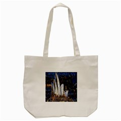 Sidney Travel Wallpaper Tote Bag (cream)