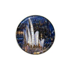 Sidney Travel Wallpaper Hat Clip Ball Marker
