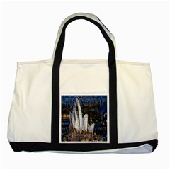 Sidney Travel Wallpaper Two Tone Tote Bag