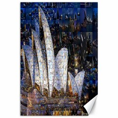 Sidney Travel Wallpaper Canvas 12  x 18