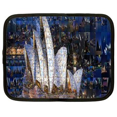 Sidney Travel Wallpaper Netbook Case (large)