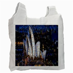 Sidney Travel Wallpaper Recycle Bag (two Side)