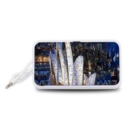 Sidney Travel Wallpaper Portable Speaker (White)