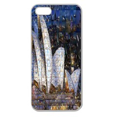 Sidney Travel Wallpaper Apple Seamless iPhone 5 Case (Clear)