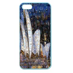 Sidney Travel Wallpaper Apple Seamless Iphone 5 Case (color)