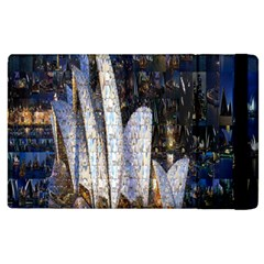 Sidney Travel Wallpaper Apple Ipad 3/4 Flip Case