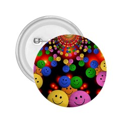 Smiley Laugh Funny Cheerful 2 25  Buttons
