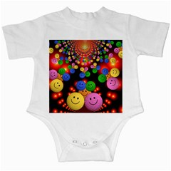 Smiley Laugh Funny Cheerful Infant Creepers