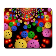 Smiley Laugh Funny Cheerful Large Mousepads